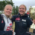 Gratulerer til Diane og Cornelia - vinnere av Norgesmesterskapet i 29er 2021!